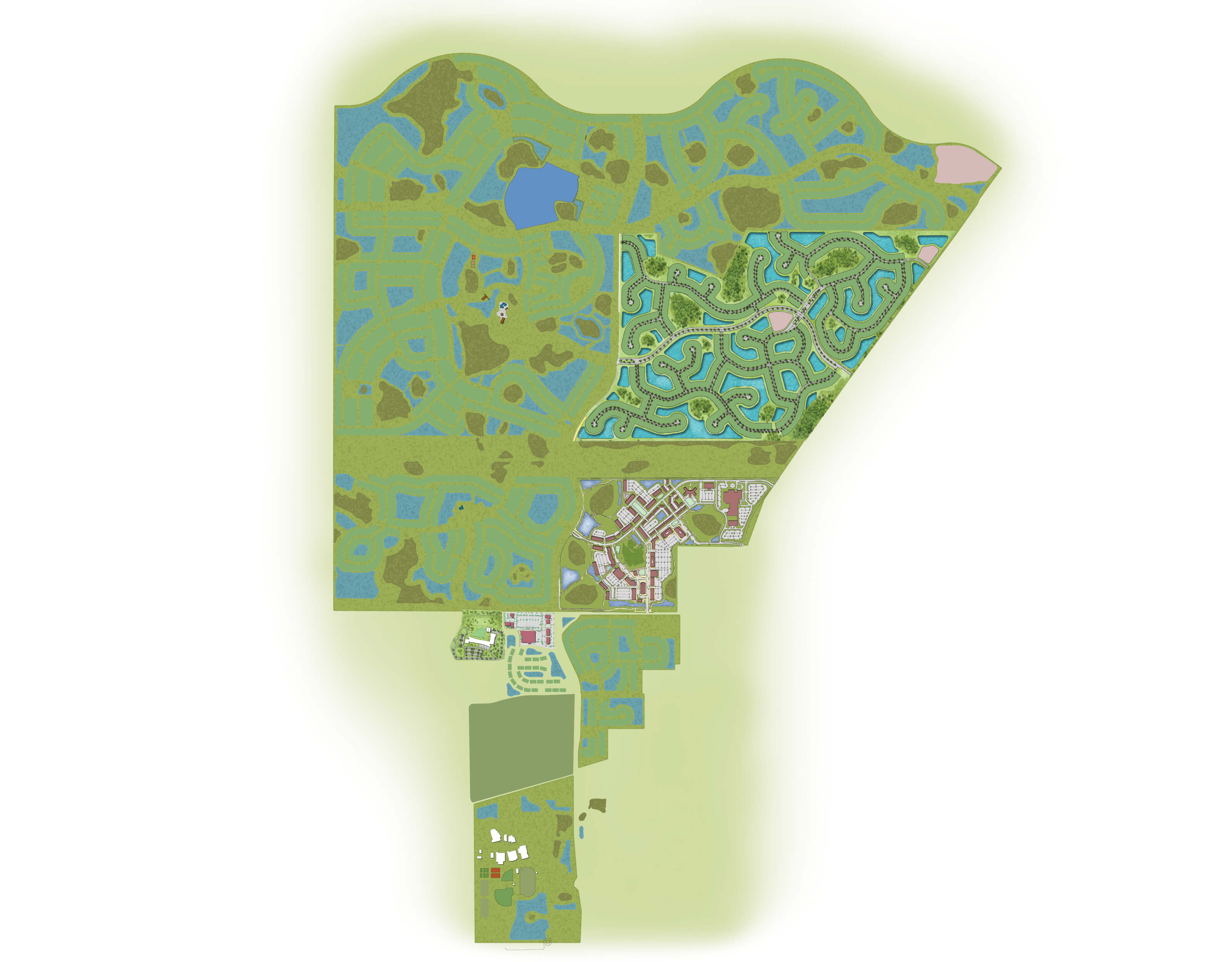 Neighborhoods site plan background