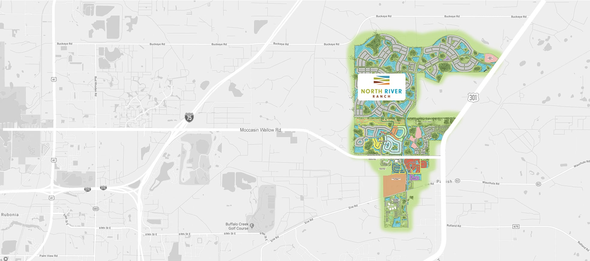 static map with neighborhood location highlighted commute