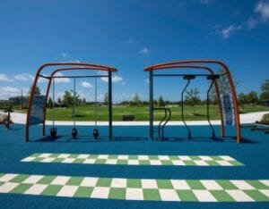 new home development outdoor fitness Parrish Florida