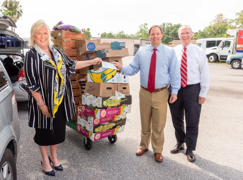 John Neal and Meals On Wheels Plus Manatee County Donation