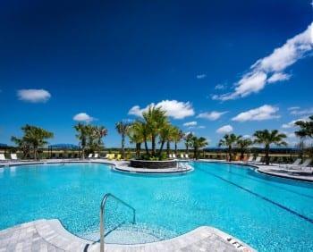 new home development community pool Parrish Florida