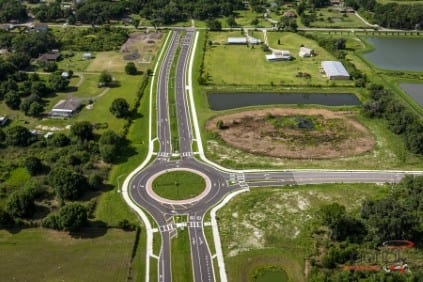 Ft Hamer Road extension at North River Ranch by Neal Land,
