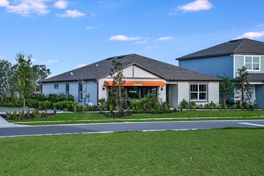 Centex model homes Brightwood North River Ranch Parrish Fl