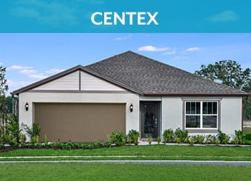 centex homes with 1 story and 2 car garage