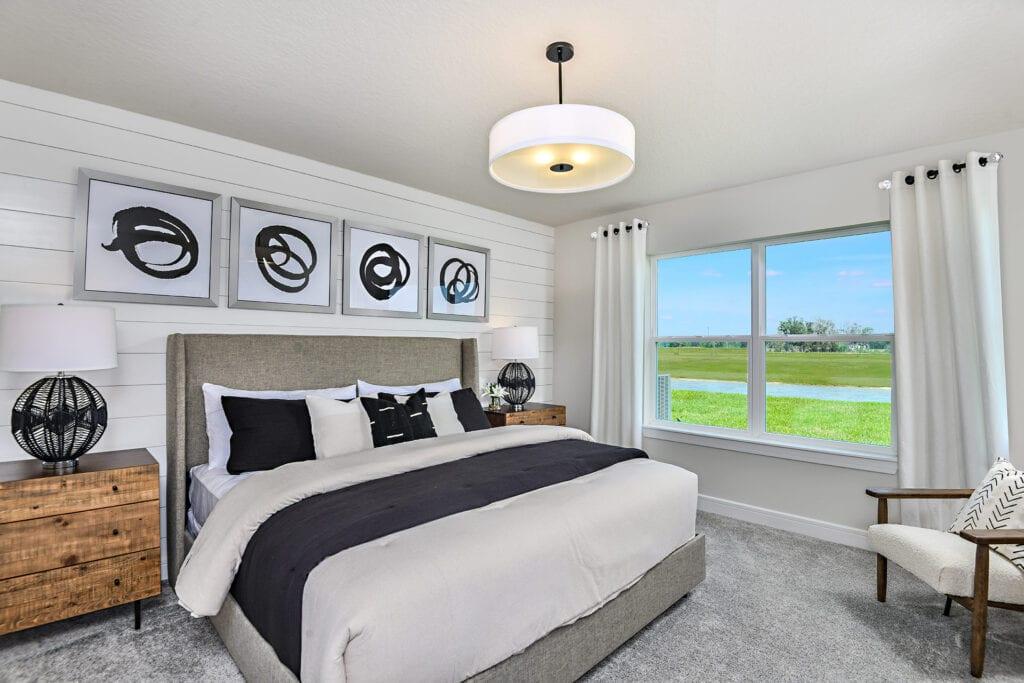 Hanover model home by Centex at North River Ranch