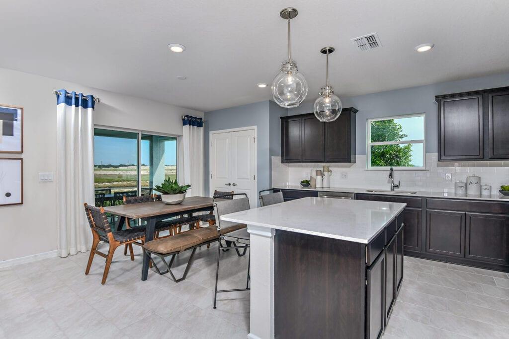 Centex model home north river ranch kitchen