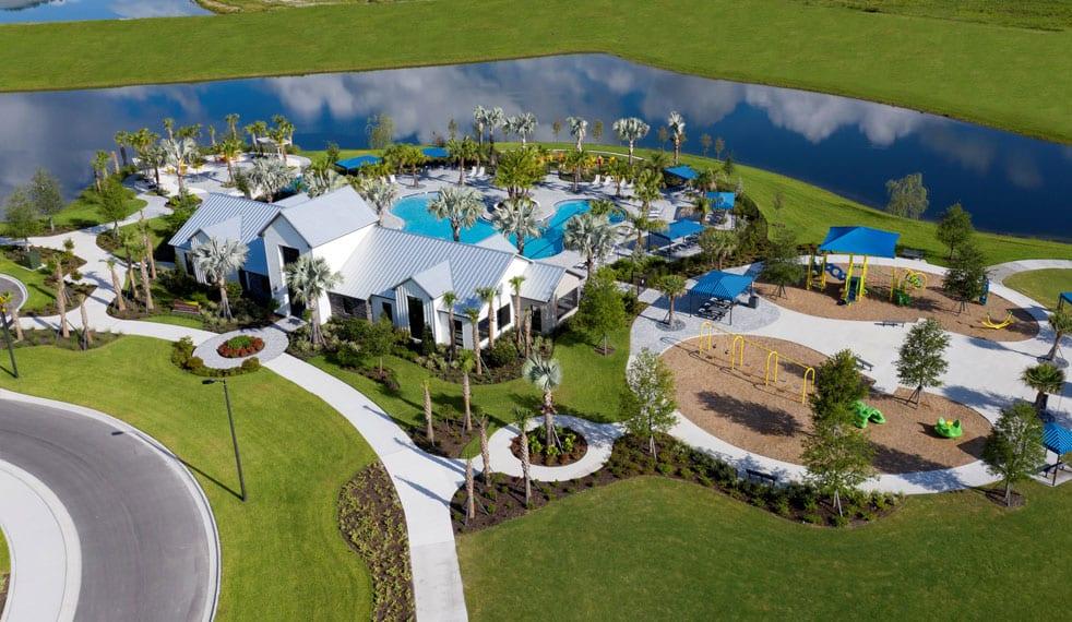 Brightwood amenities aerial