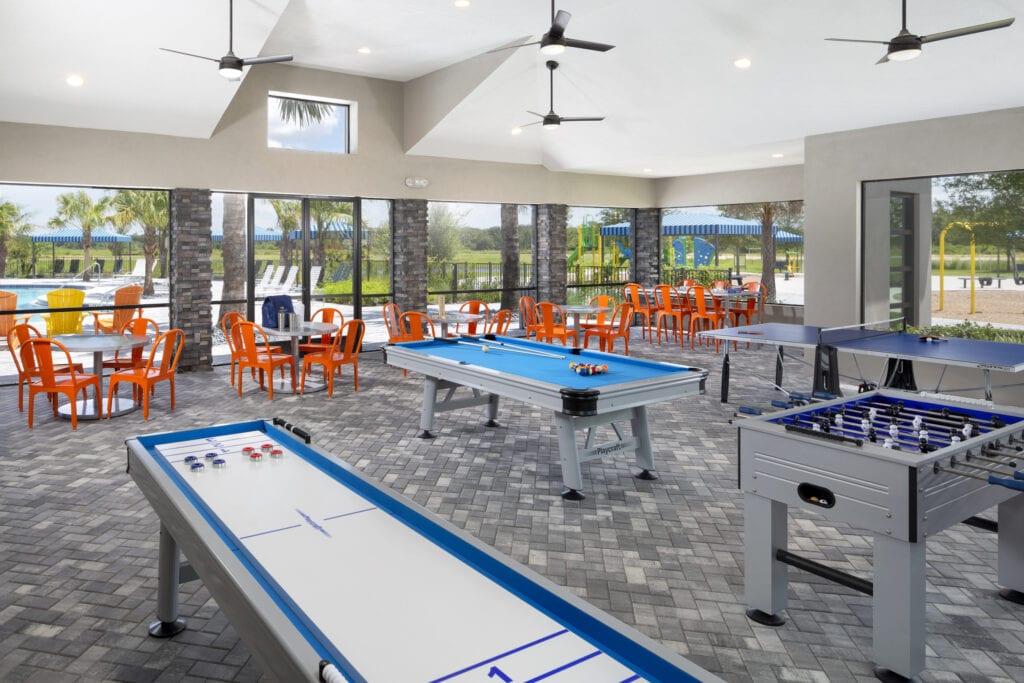 Game Room at North River Ranch