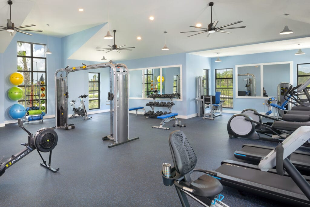Fitness Center at North River Ranch