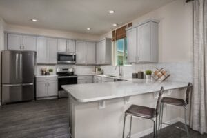 White Kitchen 2107 KB Home Model North River Ranch