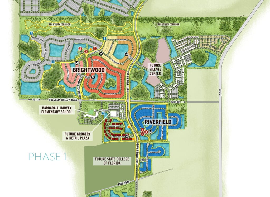 North River Ranch Phase I Site Plan 10232020