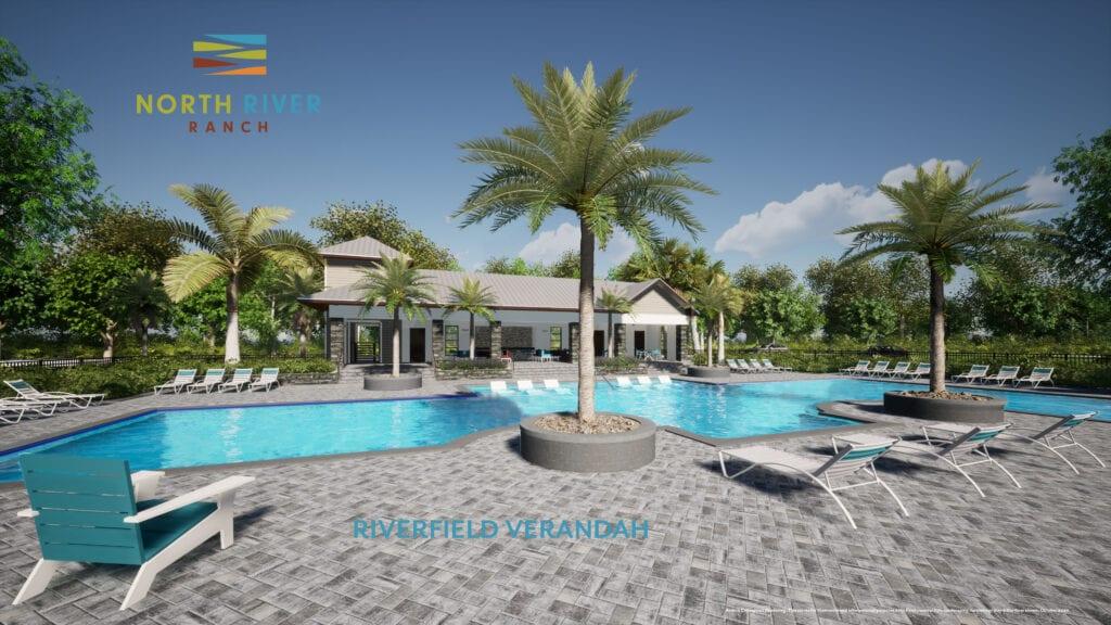 rendering pool riverfield verandah
