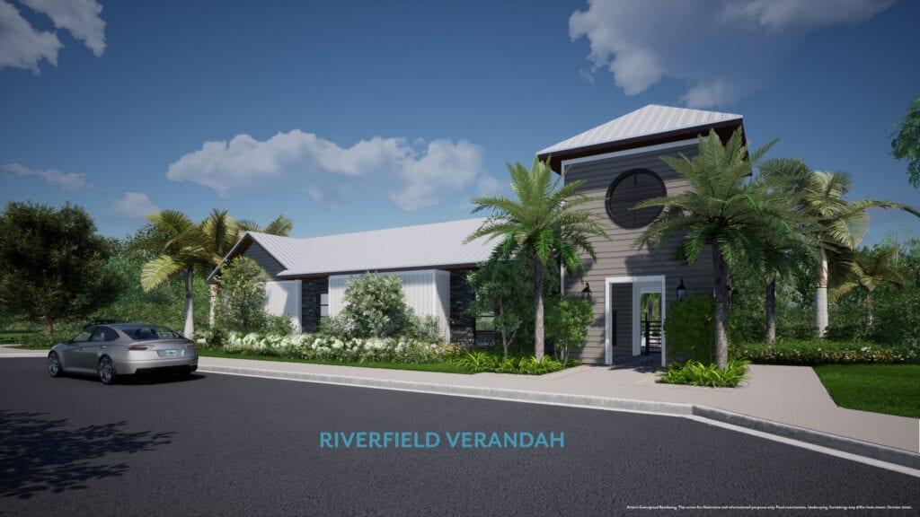 rendering entrance tol riverfield verandah