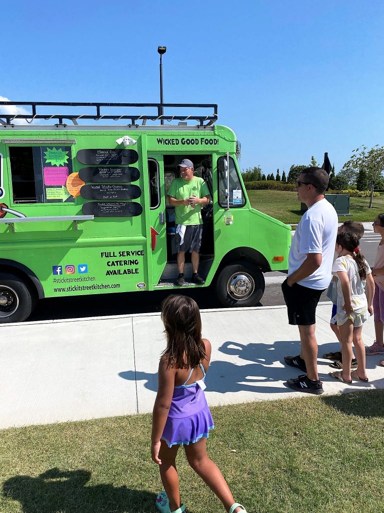 Green Wicked Food Truck at North River Ranch