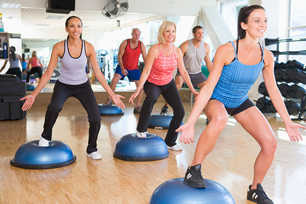 people exercising in the gym  - New Home Community - New Construction Homes For Sale in Parrish, FL