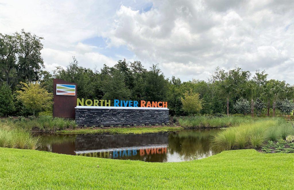 North River Ranch community entrance Parrish Florida