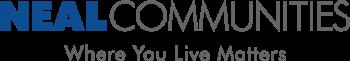 neal communities blue logo